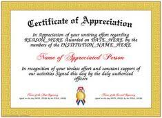 Employee Certificate Of Appreciation Nice Editable Certificate Of Appreciation Template Example With