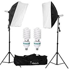 lighting set. Abeststudio 2x135W Continuous Lighting Kit 20\u0026quot;x28\u0026quot;/50x70cm Softbox Soft Box Photo Studio Set