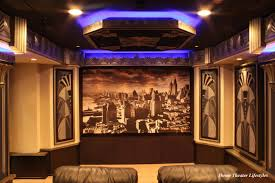 home theater art. art deco home theater contemporary-home-theater r