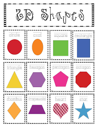 2d Shapes Anchor Chart 2d Shapes Poster Packet Classroom Freebies