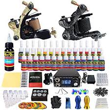 Buy Solong+Tattoo Complete <b>Tattoos Kit</b> with 2 <b>Pro Machine</b> Guns ...