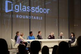 glassdoor ceo at a roundtable on pay equality the company launched a new tool for