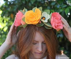 Paper Flower Headbands Diy Paper Flower Headband By Lia Griffith Project Papercraft
