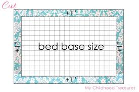 mattress pattern. Free-doll-mattress-pattern-4 Mattress Pattern A