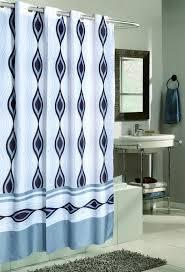 white fabric shower curtains motive blended hookless fabric shower curtain brown pattern fabric shower curtains round brown wooden stool white wooden