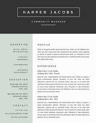 7 Best Resume Templates Images On Pinterest Creative Curriculum