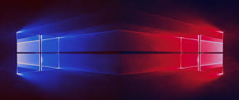 Red Windows 10 Wallpaper Hd Window 10 Backgrounds Blue And
