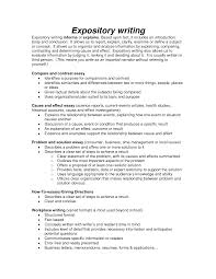 example of an expository essay a sample expository essay view larger