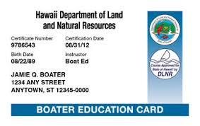 Safety Boat amp; License Course Hawaii Boating Ed®
