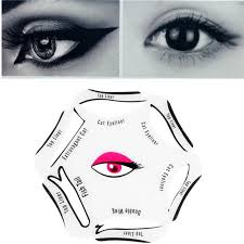 6 in 1 eyeliner stencil set makeup guide quick cat eye liner tool beauty cosmetics eye brows from carloas 22 02 dhgate