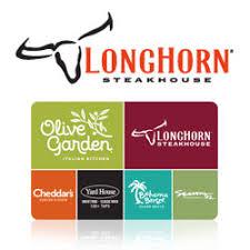longhorn steakhouse gift cards e gift cards