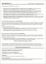 Resume Sample 17 Supply Chain Management Resume Career