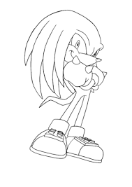 knuckles the echidna coloring page sonic the hedgehog printable mask �\u20ac�fire sign�\u20ac on printable sonic coupons