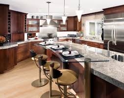 Modern Glass Kitchen Table Modern Kitchen Tables Ideas Island Kitchen Idea