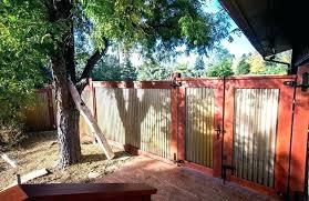 corrugated metal fence diy corrugated metal fence ideas corrugated metal fence plans corrugated metal fence construction
