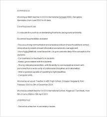 Tutor Resume Sample Techtrontechnologies Com
