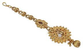 amazon much more indian bollywood gold tone maang tikka women wedding forehead ethnic jewelry 2072 jewelry