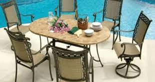 agio patio furniture using stone on the