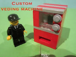 How To Make A Lego Vending Machine That Works Cool Lego Tutorial Vending Machine YouTube