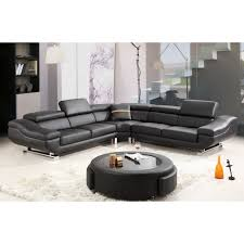 modern black leather couches. Modern Black Leather Couches