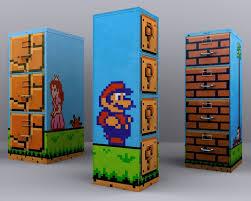 Mario Bedroom Decor Endearing Mario Room Decor Furniture Interior Home Design Bedroom