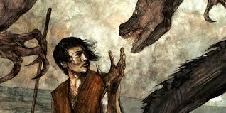 a wizard of earthsea earthsea saga fantasy series ilration by david lupton