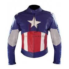 the first avenger captain america chris evan leather jacket