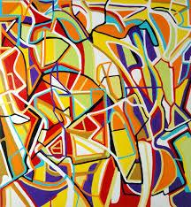 pure abstract art by marten jansen
