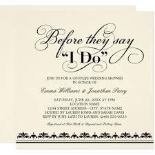 Couple Wedding Shower Invitations Couples Wedding Shower Invitation Wedding Vows