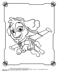 Paw Patrol 10 Cartoons Printable Coloring Pages