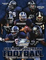 Georgia Southern Depth Chart Georgia Southern Football 2013 Information Guide By Georgia
