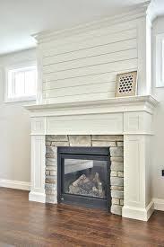 white wood fireplace mantel white brick fireplace wood mantel