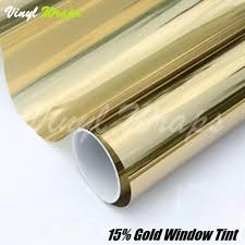 gold window tint. Simple Window 17 GOLD REFLECTIVE WINDOW TINT FILM And Gold Window Tint T