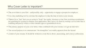 Bunch Ideas Of Importance Of Cover Letter The Importance Of A Cover