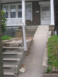wheelchair ramp that is not safe