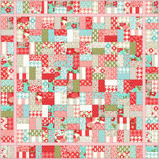 Christa's Quilts – The Jolly Jelly Roll Quilt – Christa Quilts & Sugar Sweet Jolly Jelly Roll Quilt Adamdwight.com