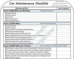 Vehicle Maintenance Etsy