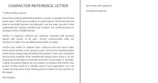Best Character Letter Format Samples For Court Reference