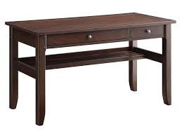 writing desks home office. Amazon.com: INSPIRED By Bassett Hainsworth Writing Desk With Java Finish Veneer Top And Wood Frame: Kitchen \u0026 Dining Desks Home Office R