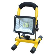 Portable Flood Lights Outdoor Us 20 1 14 Off Rechargeable Led Flood Light Waterproof Ip65 Camping Lamp Outdoor Spotlight Floodlight Camping Light With Plug In Emergency Lights