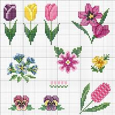 Cross Stitch Flower Patterns New Flower Perler Bead Patterns Punto Cruz Pinterest Bead Patterns