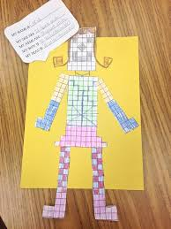 Area and Perimeter Robot Craft | Robot, Students and Math