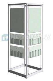 Glass Stands For Display Nova Display Inc Modular Floor Stand Display Kits For Posters 65