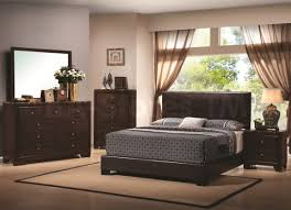 Make The Most Of A Small Bedroom Bedroom Beige Fabric Leather Area Rug Black Modern Stained Wooden