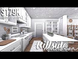 Hillside Mansion Part 2 Interior Roblox Bloxburg Gamingwithv Youtube House Design Kitchen Simple House Plans Tiny House Layout