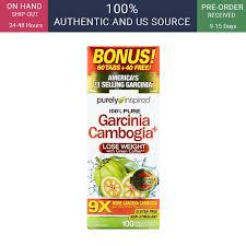 Purely Inspired, <b>Garcinia Cambogia+</b>, <b>100</b> Veggie Tablets | Shopee ...