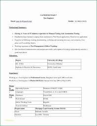 Normal Resume Format Download And 12 Elegant Resume Free Download
