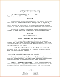 Business Contract Agreement Template Business Contract Template For Partnership Agreement 15