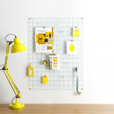 Modern Memo Board Wire mesh memoboard a modern wall noticeboard perfect 16