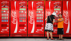Coca Cola Touch Screen Vending Machine Unique Coke Plans Big With AIPowered Vending Machines CORPORATE ETHOS